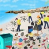 Coastal Clean Up Game Online